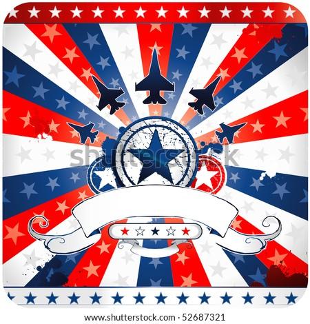 american vector background