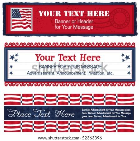 Americana Banners Too