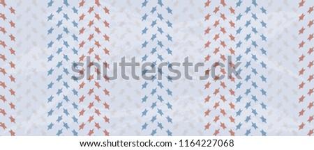 Americana seamless pattern