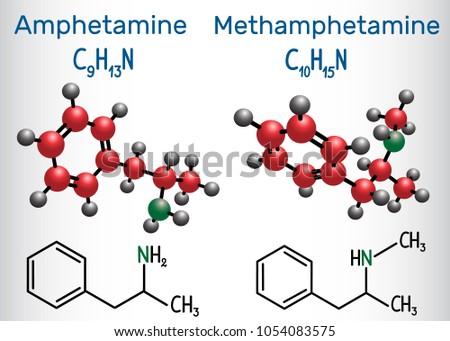 amfetamine  amphetamine  c9h13n
