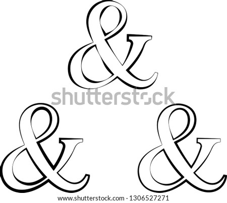 Ampersand vector icon - Download Free Vector Art, Stock