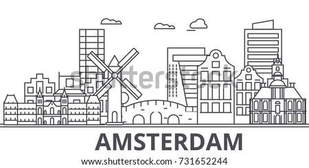 amsterdam architecture line