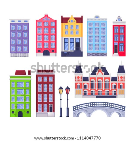 amsterdam city buildings