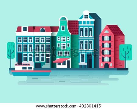 amsterdam city design flat