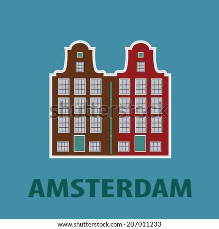 amsterdam city icon