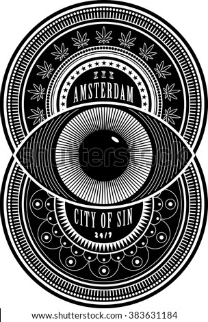 amsterdam the city of sin sign
