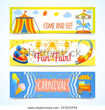 royalty free vintage retro carnival fun fair 191282954 stock photo