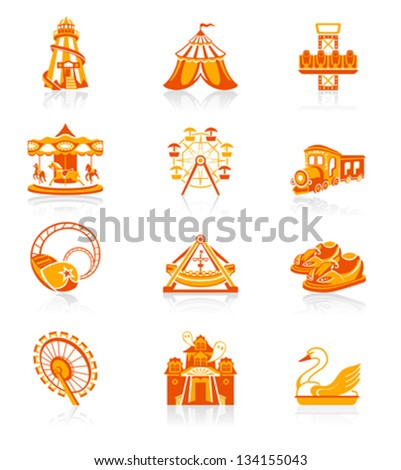 amusement park or funfair