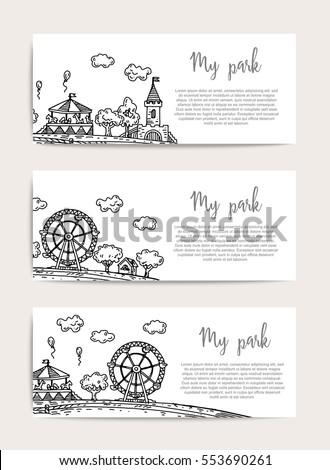 amusement park  rides and...