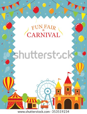 Gaming theme icon vector free vector 4vector for Amusement park decoration games