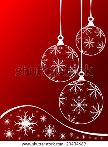 an abstract christmas vector