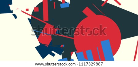 an abstract composition in a