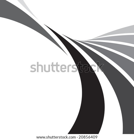 An abstract design template with plenty of copyspace. This vector image makes a great background.