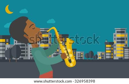 an african american musician