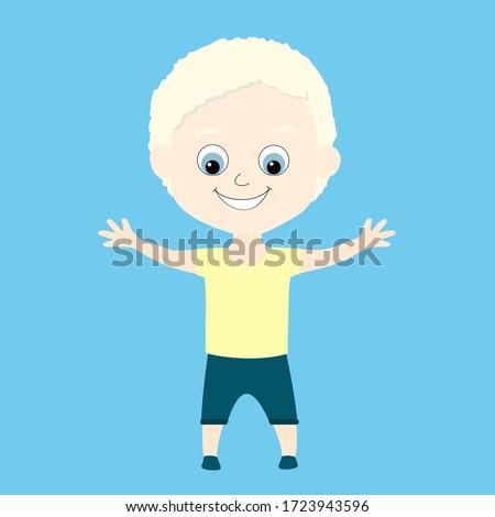 an albino african or african
