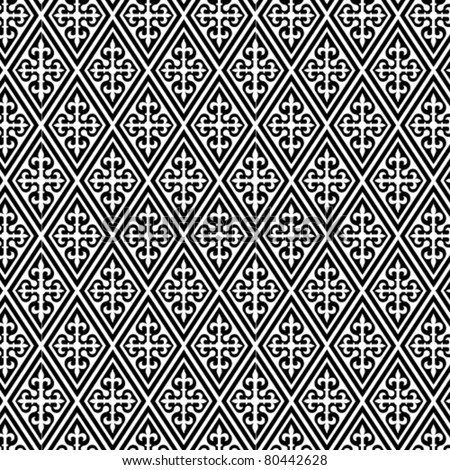 An arabic style vector pattern