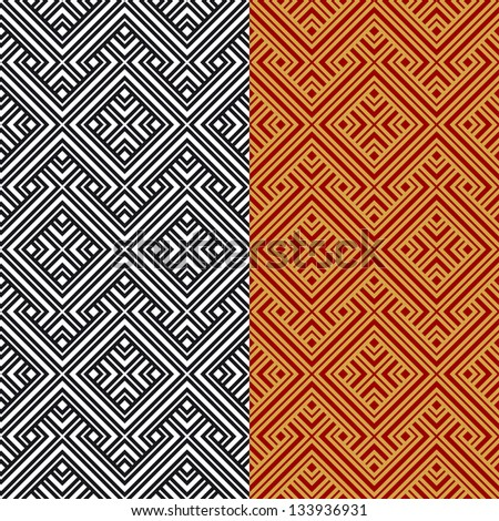 An elegant seamless pattern for a fabric, papers, tiles. - stock vector