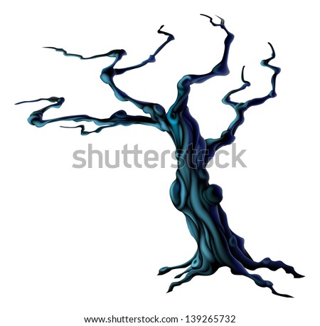 spooky tree silhouette download free vector art stock graphics rh vecteezy com Scary Monster Clip Art Ghost Clip Art Black and White