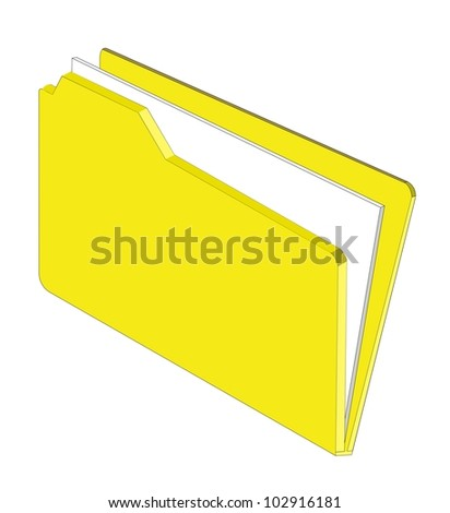 An illustration of a folder containing documents