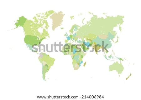 Vectores del mapa del mundo del bosquejo descargue grficos y an illustration of very fine outline of the world with country borders gumiabroncs Image collections