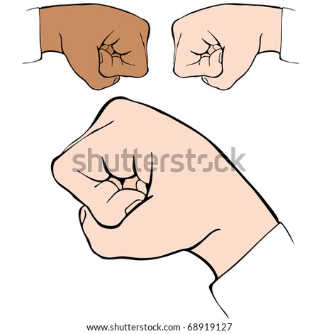 an image of a fist bump