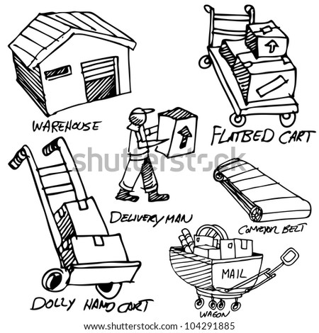 An image of a manufacturing object drawing set.