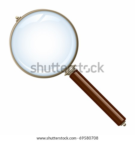 An image of a nice old magnifying glass