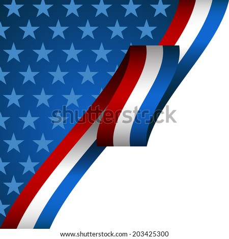An image of a patriotic background.