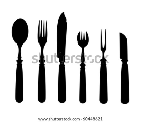 An image of an old vintage cutlery