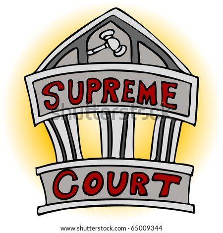 An image of the supreme court building.