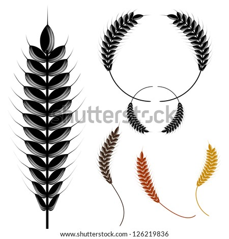 stock-vector-an-image-of-wheat-design-elements-in-a-halftone-style