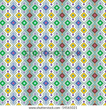 An intricate, vector color pattern