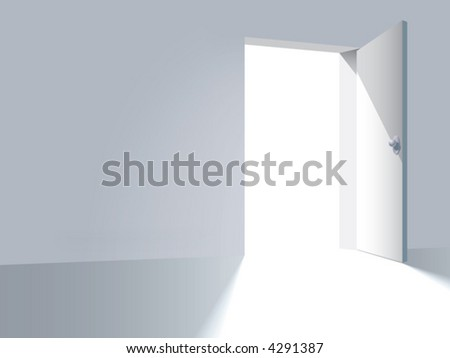 An open door, a way to freedom