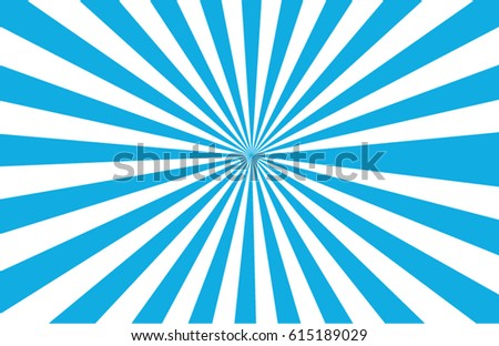 An oval shape abstract sunburst in vector illustration.