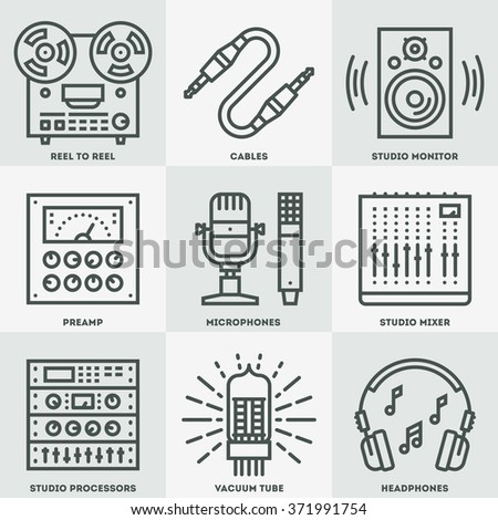 analog recording vintage music
