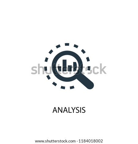 analysis icon. Simple element illustration. analysis concept symbol design. Can be used for web and mobile.