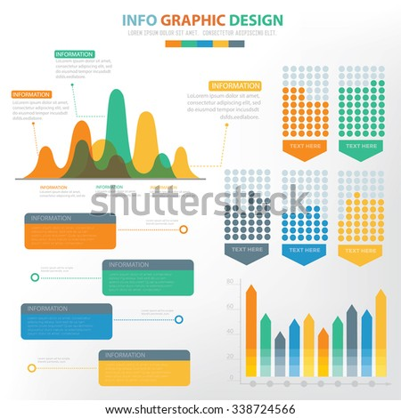Analysis Infographic Elements Design,Clean Vector - 338724566 ...