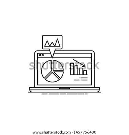 analysis invographic vector. analysis invographic icon