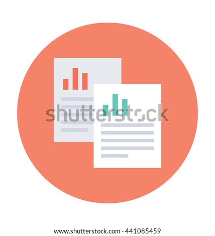 Analytical Report Vector Icon