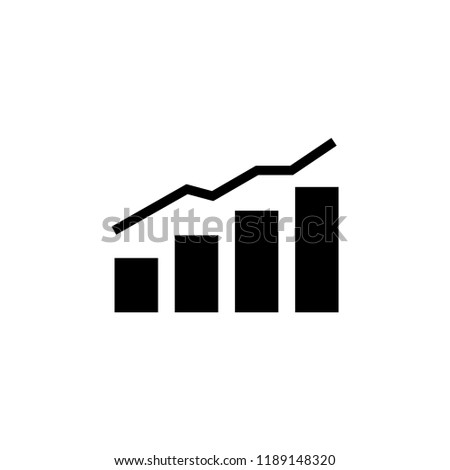 analytics icon. analytics vector illustration on white background for web and apps.