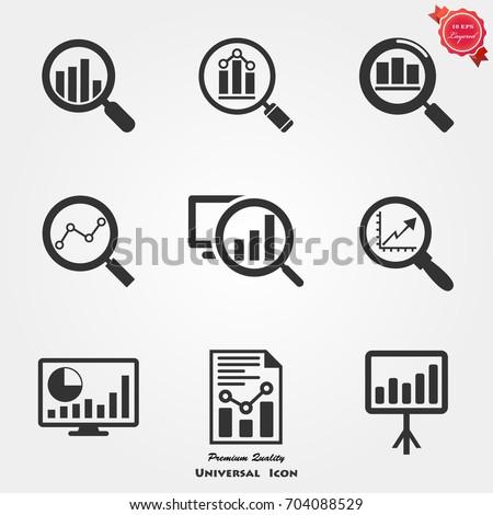 Analytics icons, Analytics icons vector, Analytics icons image, Analytics icons illustration