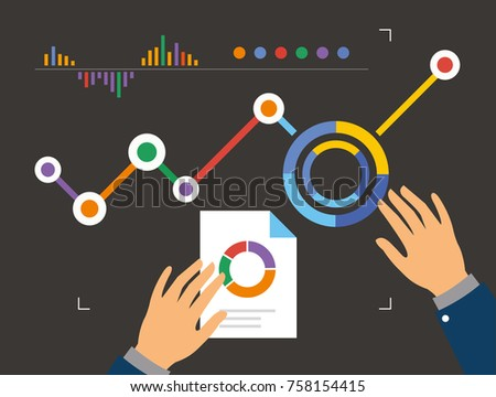 analyzing information dashboard