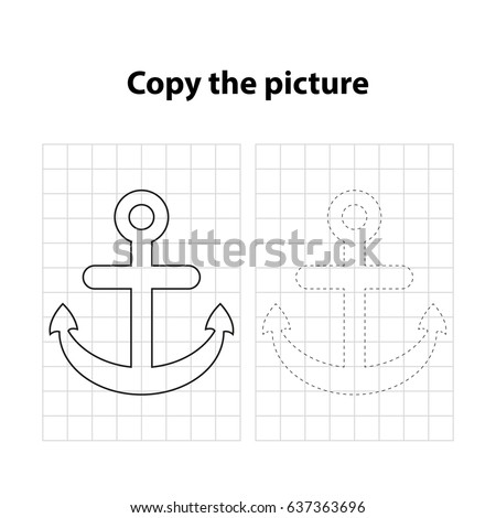 anchor  copy the picture  game