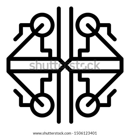 Ancient alchemy icon. Outline ancient alchemy vector icon for web design isolated on white background