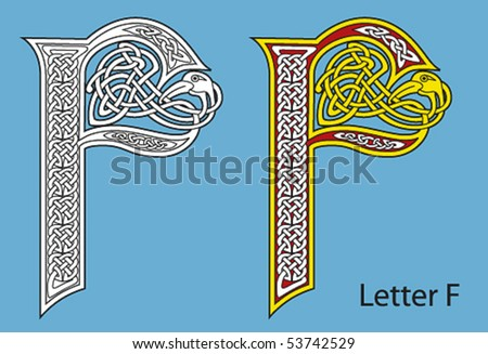 Ancient Gaelic Alphabet http://www.shutterstock.com/pic-53742529/stock-vector-ancient-celtic-alphabet-letters.html