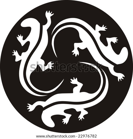 tribal lizard tattoo. Ancient lizard tattoos search