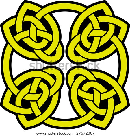 Size:450x470 - Tribal: Celtic Spiral Tattoo