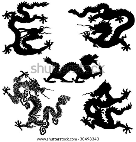 Ancient Chinese mythology the loong animal