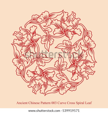 ancient chinese pattern of