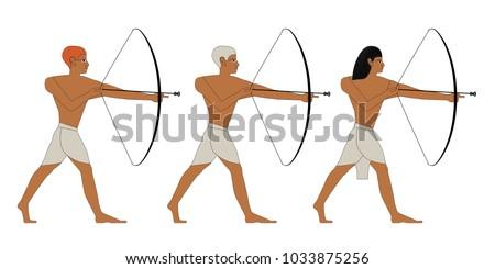 ancient egypt archers